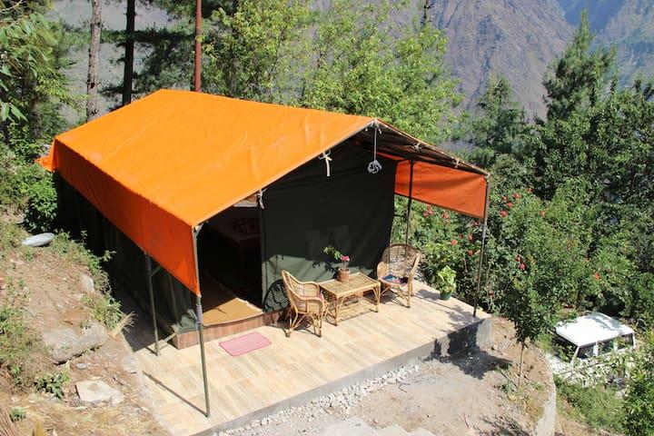 Dream Mountain Luxury Tent, Joshimath