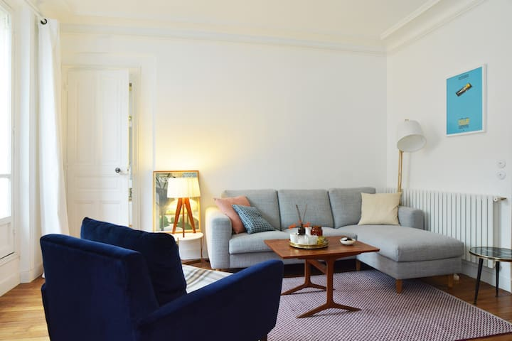 Design, cozy and  quiet apartment near Bastille