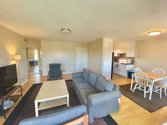 30 days rental beautiful downtown Millbrae 1br/1ba