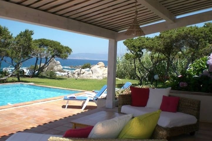 Private room with a sea view. Villa with a pool - Coti-Chiavari