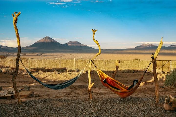 Refugio EspacioTierra (private bath.) /Great View!