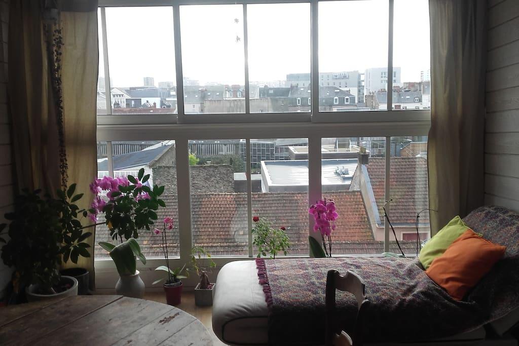 loft nantes center very quiet lofts en alquiler en. Black Bedroom Furniture Sets. Home Design Ideas