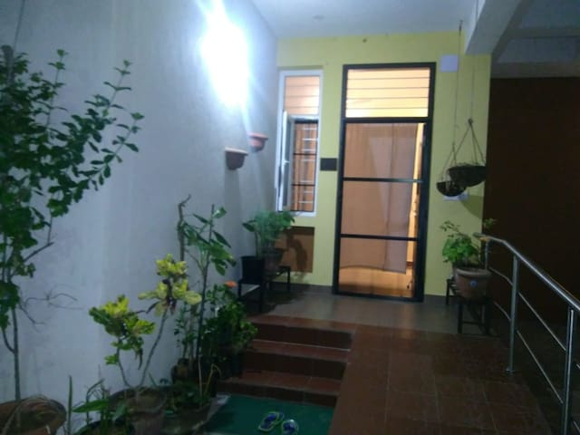 Cozy 2bhk in a secure gated community