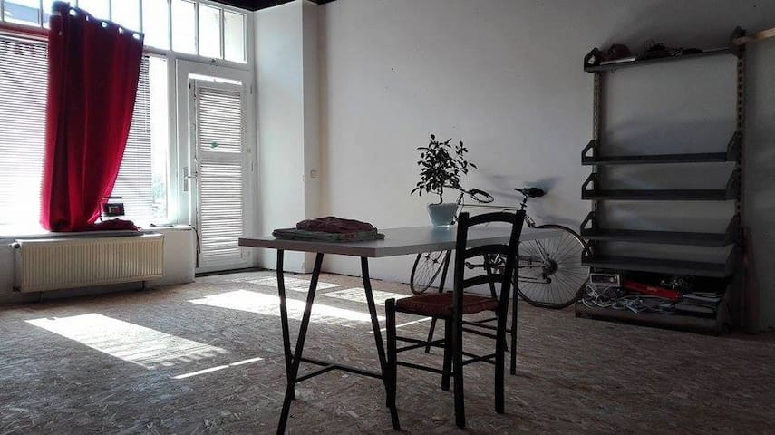 Big private room in Leipzig - Leipzig - Maison