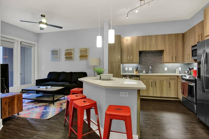 Kasa | Charlotte | Breathtaking 1BD/1BA Apartment