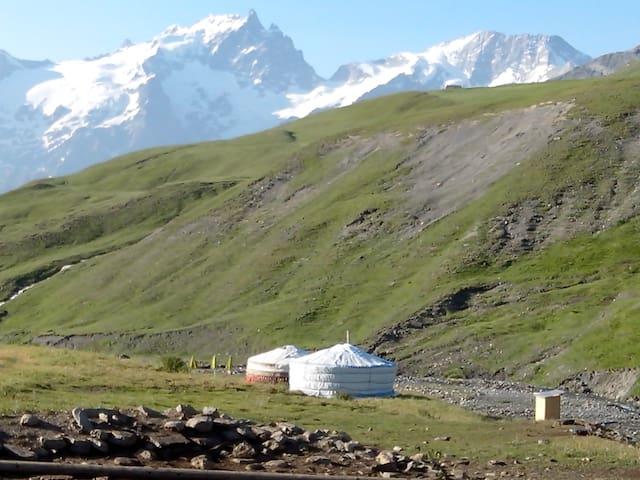 la yourte des bergers - La Grave - Yurta