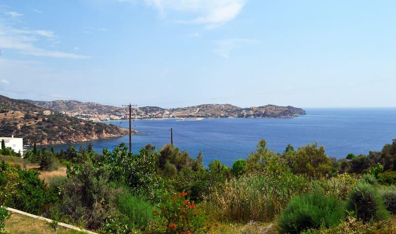 Sea view Summer House in Petries, Evia