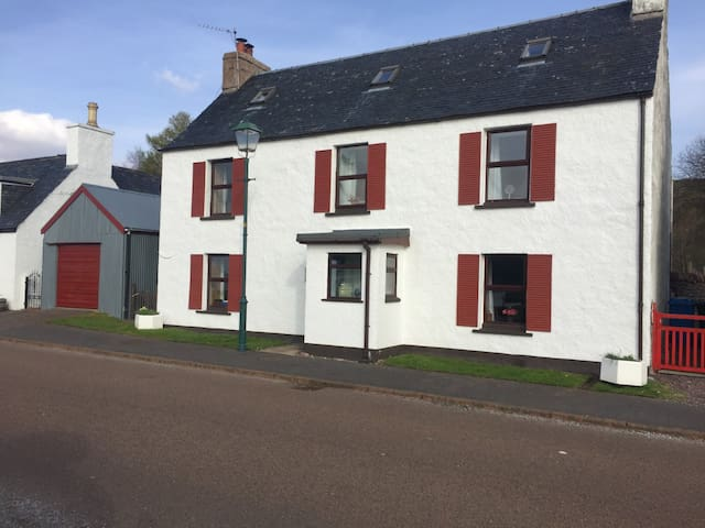 Campbell House, Shieldaig, stunning views,