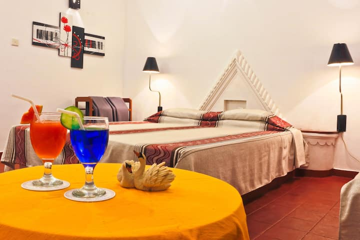 Double & Triple A/C Room @ Hotel Hemadan Bentota
