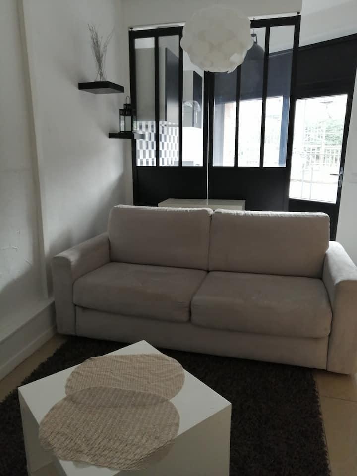 Studio 22m² centre Toulouse