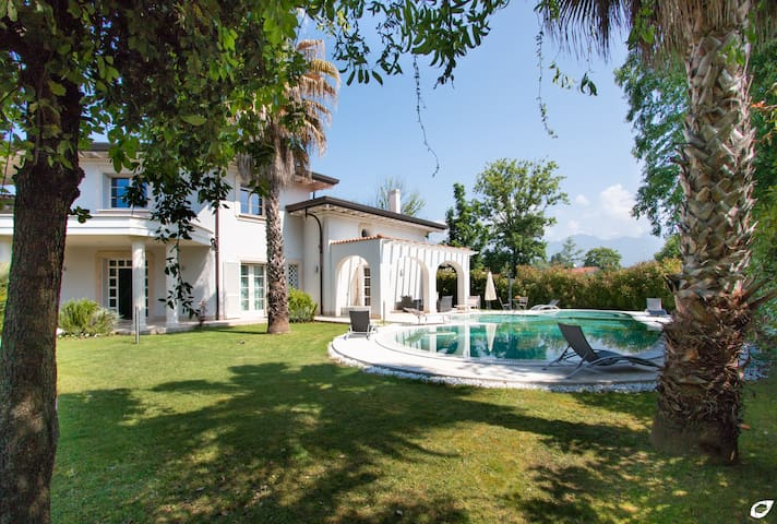 the villa with private pool