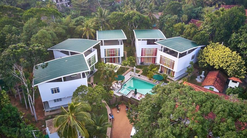 Neptune Eco Villa Groundfloor Apartment Weligama 3