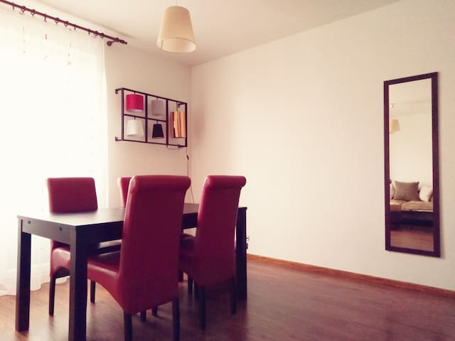 Fully equipped apartment with free parking