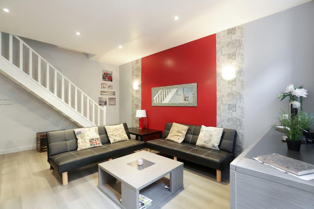 appartement avignon centre wifi 6 pers 2 ch. Black Bedroom Furniture Sets. Home Design Ideas