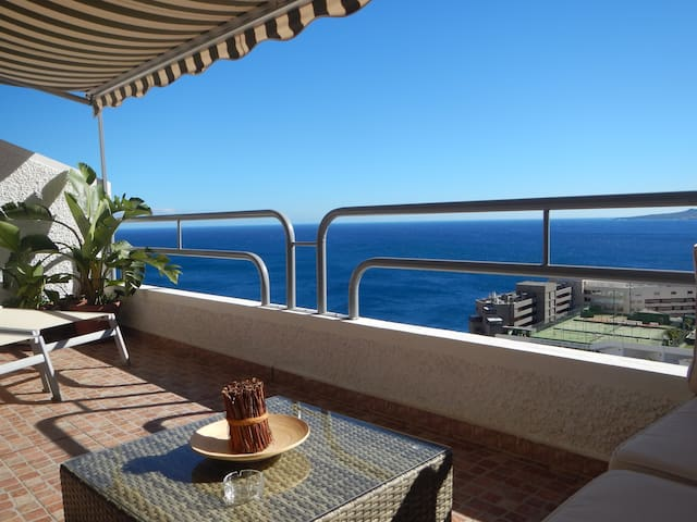 VIstaMar: peaceful ocean view, wifi and parking