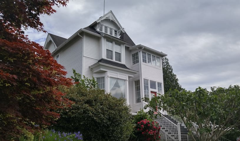 Cozy Private Suite in Historic Victorian Home. - Bellingham - Lakás