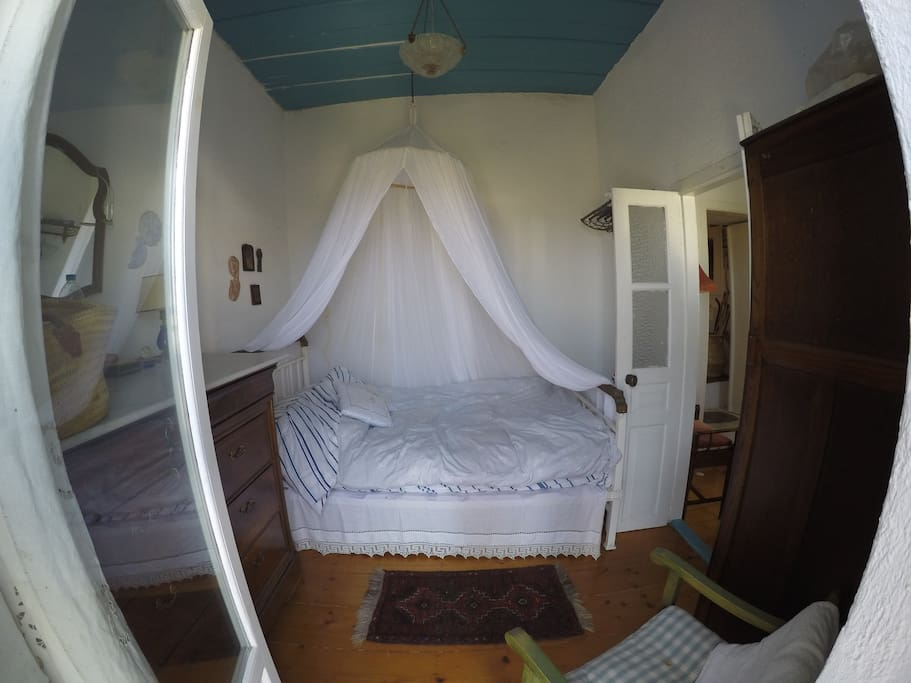 Master bedroom from balcony door