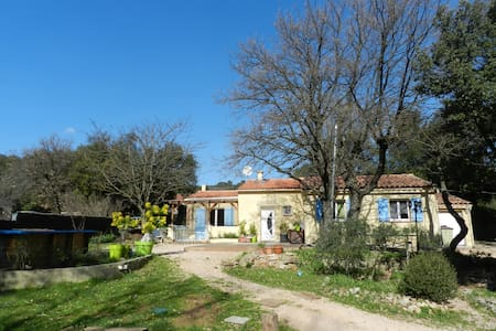 Maison individuelle,au calme(piscine-grand jardin) - Sainte-Anastasie-sur-Issole - Dom