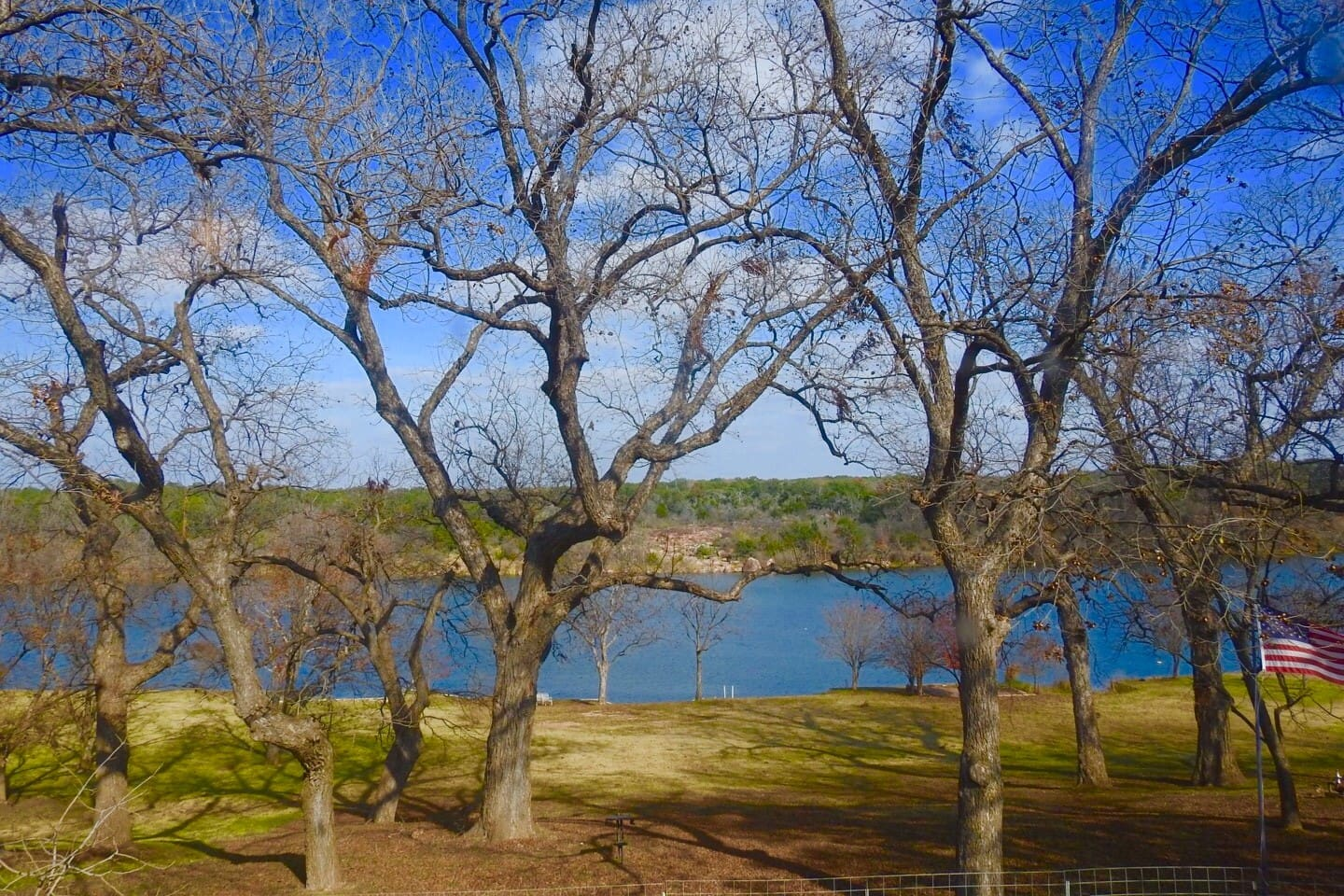Lake Marble Falls access for fishing and kayaking!