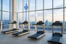 Gym Room at 51st Top floor