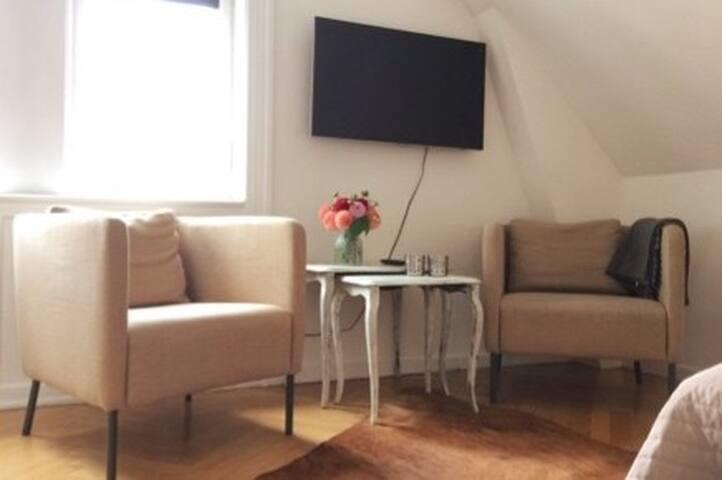 Cozy and spacious room in large villa, Copenhagen