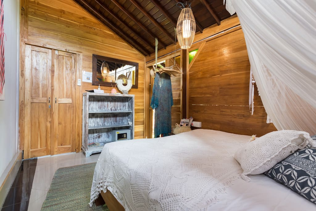 enjoy your cozy room in Boho style