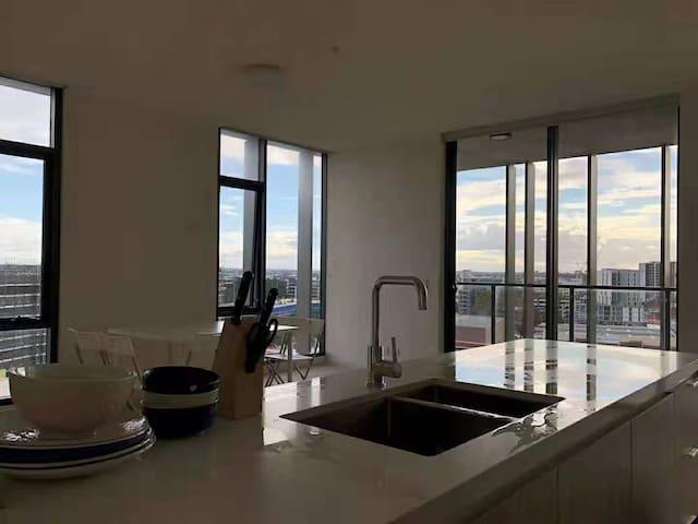 高层公寓,风景绝佳 zetland