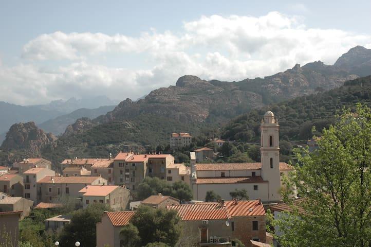 grande maison à Piana Corse