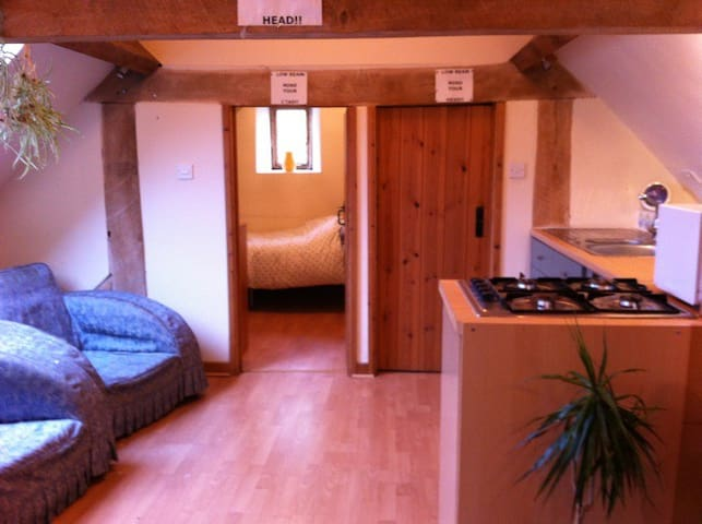 Barn Flat-A rural setting yet right on the road - Bath - Lejlighed