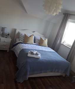 Cobh Sea Views, Large, Modern, King Size Bedroom