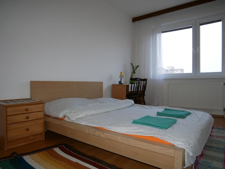 Double bed room - newly renowated(second room)