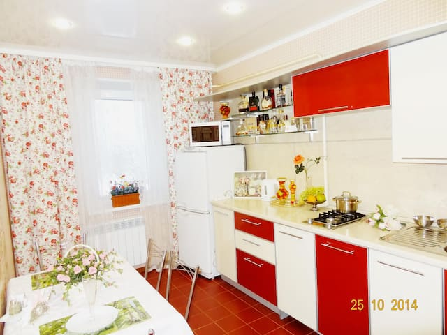 Превосходные апартаменты с Джакузи в центре города