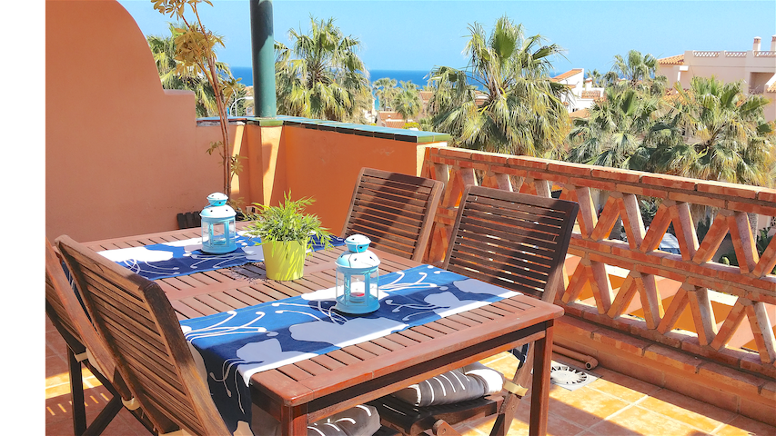 Wonderfull Apartment with sea views - Mijas Costa - Flat