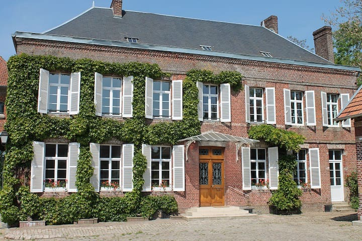 Beautiful mansion in Aisne department (Picardy) - Fonsomme - Casa
