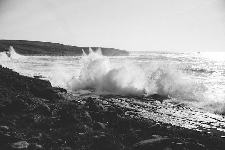 Rough Seas along Doolin Coast