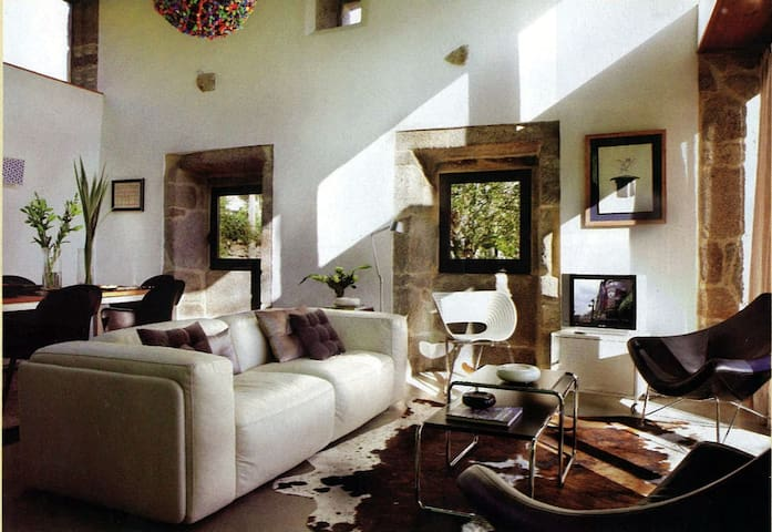 Casa rural diseño en Baiona