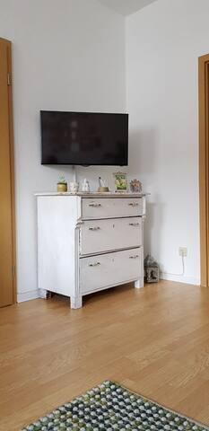 Fernsehschrank im Wohnzimmer