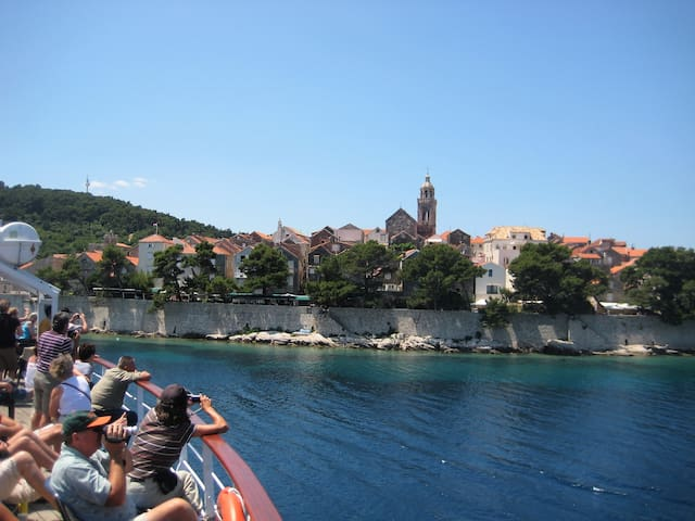 Old town, view from ferry