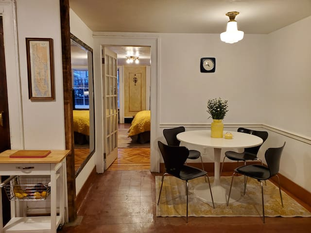Spacious West Village Apartment with Backyard