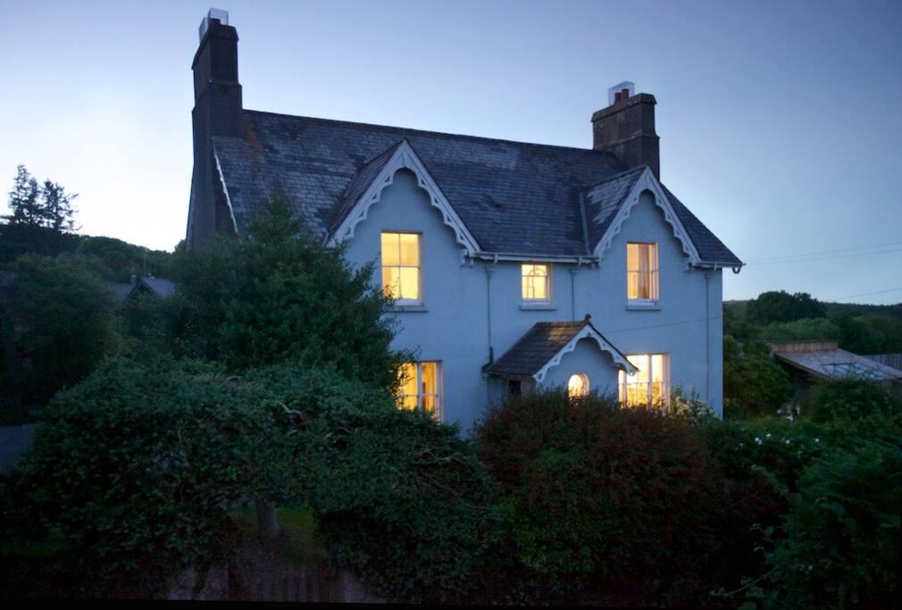 A cosy retreat in the village of Manaton, Devon.