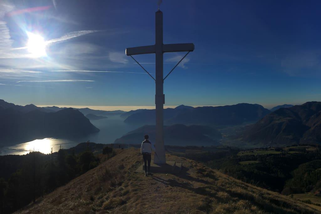 Panoramica dalla Croce della Colombina