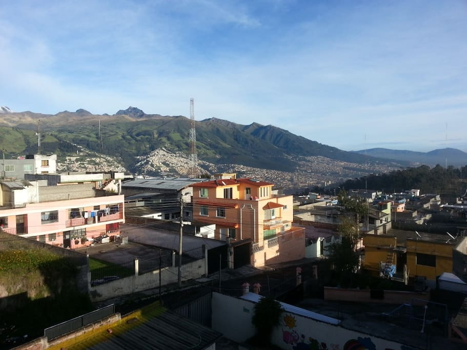 View to Quito