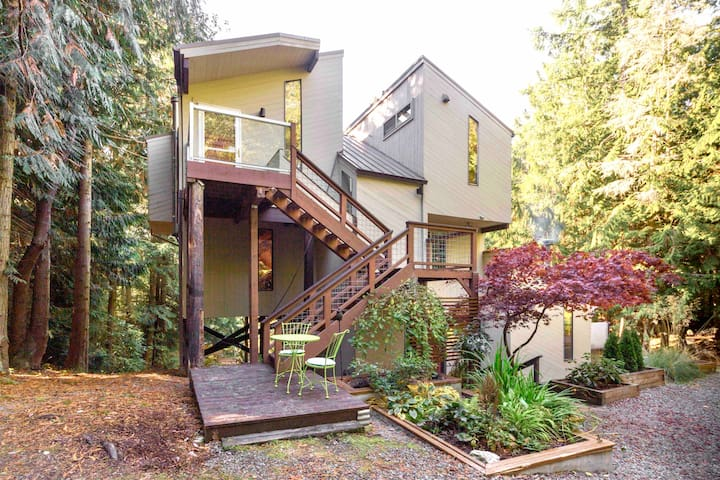❖The Nest❖ Luxury House in the Trees Port Townsend