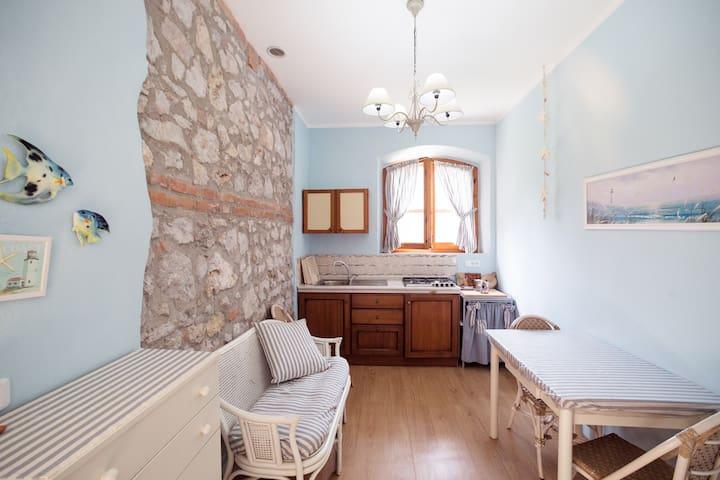 "Appartamento ""Mare"" Agrit. Sasso Rosso Maremma - Alberese - Lägenhet"
