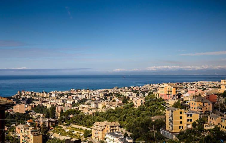 Villa Ornella Fantastic Ocean view and garden - ジェノヴァ - 別荘