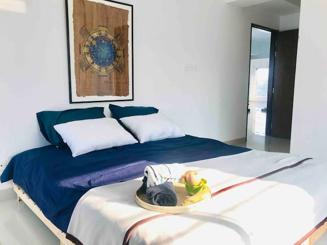 ✽ 4 Bedroom Apt+AC+Brkfast+Airport Drop-Baridhara