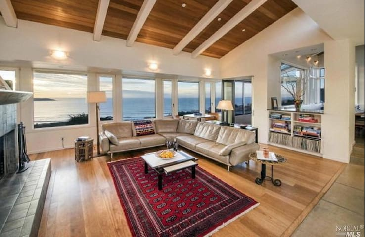 5 min walk to beach, Luxury Home - Dillon Beach - Casa