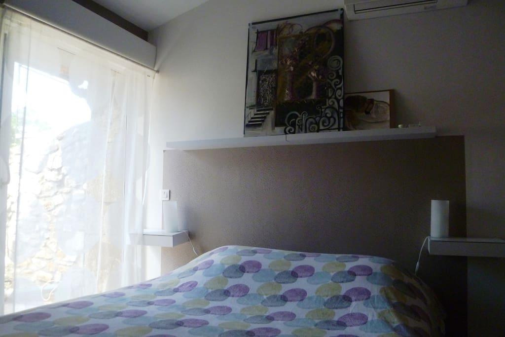 Chambre 1 avec balcon