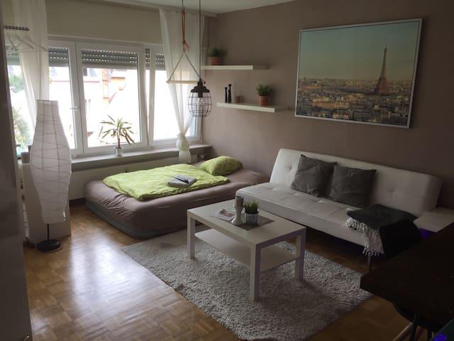 Charmante 2 zimmerwohnung - Karlsruhe - Apartment