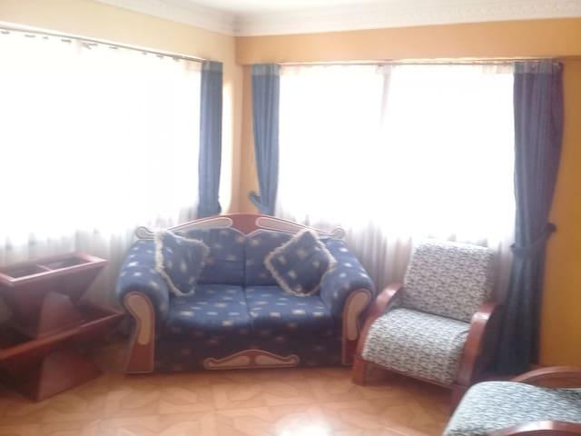 Habitación cómoda centro de chia